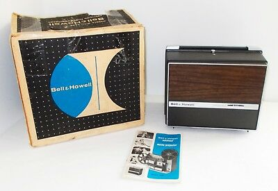 Vintage Bell & Howell 8mm Super 8 Autoload Model 456 W Manual Original Box