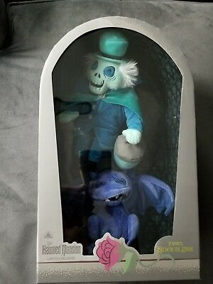 NEW Parks Exclusive Disney Hatbox Ghost Plush Haunted Mansion sold out in parks