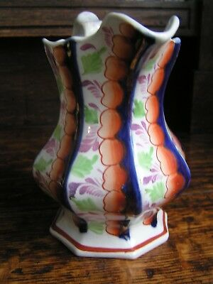 Pretty 19th Century Gaudy Welsh Jug – Glamorgan pattern