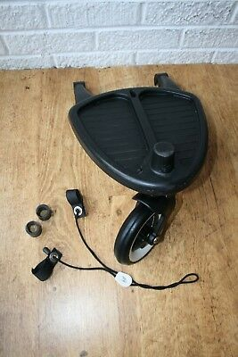 Bugaboo wheeled board Buggy Board with Adapters for Bee, Elastic Strap
