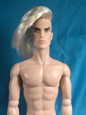 Lukas Maverick Ooak Hommes Fashion Royalty Doll Nude Flaws