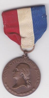 Daughters Of The American Revolution Early Citizen Ships Award 1940