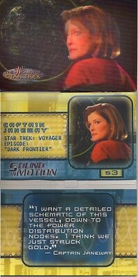 Star Trek Women Of Star Trek In Motion Sound Card S3 Captain Janeway No Sound