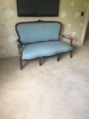 Antique French Mahogany Chaise