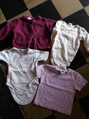 lot de 16 vetements   fille taille 3/6 mois