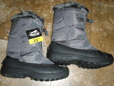 Arctic Cat Women's Velocity Winter Snowmobile Snow  Boots Size 11 Rated -25F