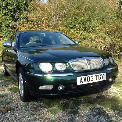 Rover 75 1.8 Connoisseur Immaculate Inside & Out Total History 74000 Miles!