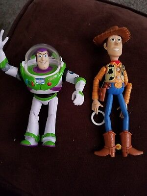 DIisney Toy Story Buzz And Woody poseables