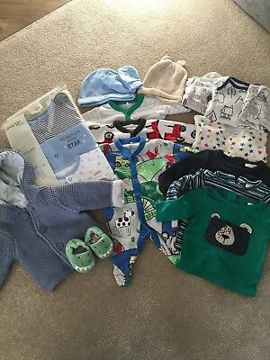 Large Baby Boy Bundle. First Size. Some Items New. Next, Mothercare, George Etc.