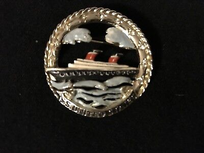 S.S. UNITED STATES Pin Broach