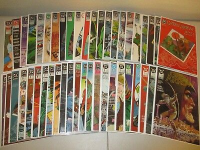 Green Arrow #1-42 + Annuals (Complete Lot of 45) 1988 DC Series, Mike Grell