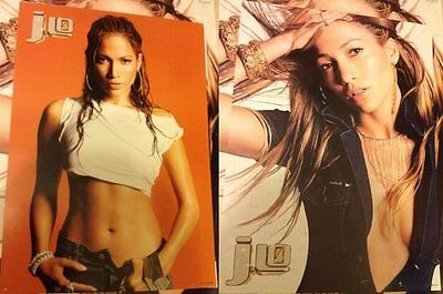 Jennifer Lopez 2000-2005 J.Lo This Is Me Then Rebirth Taiwan Promo Poster x 5