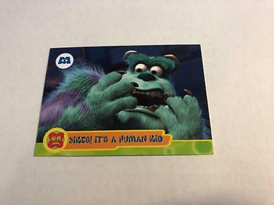 Disney MONSTERS INC Cards #15 - Yikes It's a Human Kid SULLEY