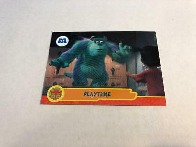 Disney MONSTERS INC Cards #20 - Playtime BOO SULLEY