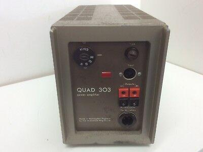 Quad 303 Stereo Amplifier. Refurbished