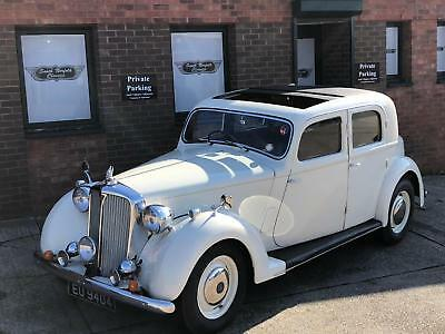 1948 Rover 75 P3, 4-Light Sports Saloon, Old English White with Red leather