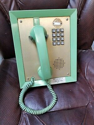 Rare vintage built into the wall telephone form the 60s 70s.