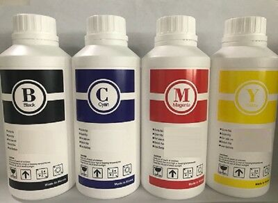 Textile Ink Direct To Garment Printers Dye Sublimation (C,Y,M,K,LC,LM) 6,000 ML