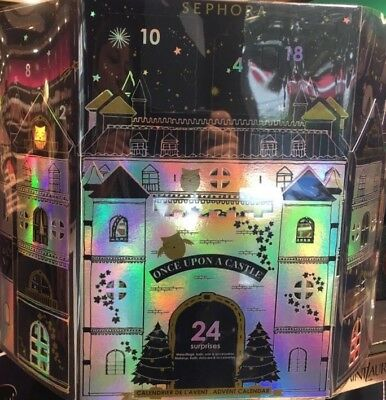 Sephora beauty countdown advent calendar 2018 *Once upon a castle* LIMITED STOCK