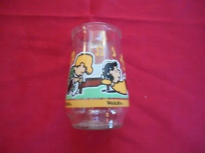 Welch's Peanuts Jelly Glass 5 of 7 Let's Just Play Along