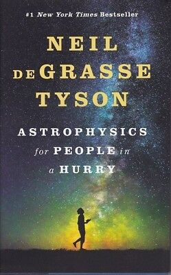 NEIL DEGRASSE TYSON Signed 1st Edition Book w/ Hologram COA