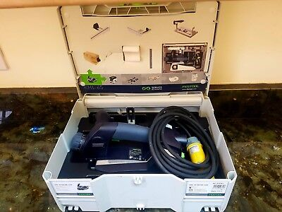 Festool One handed planer EHL 65 EQ GB 110v