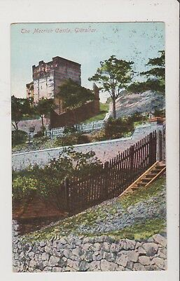 Postcard Showing  - The Moorish Castle, Gibraltar - unused - (GR32)(X)