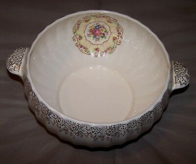 Toledo Delight By American Limoges Covered Vegetable Serving Bowl