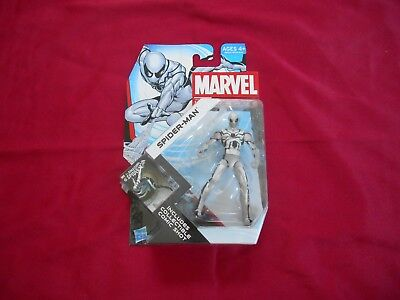 Marvel Universe Spider Man White Costume 3.75 Inch Action Figure NEW