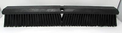 """5 Push Broom Replacement Heads - 24"""" - Multi Surface - Synthetic Block"""