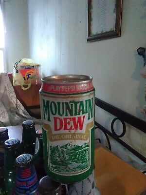 vintage Mountain Dew can
