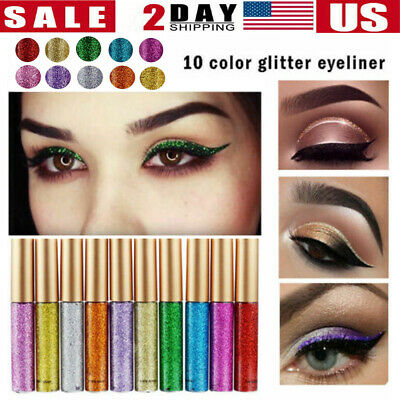 US Diamond Glitter Eye Shadow Make Up Palette 15 Colors Set Professional Makeup