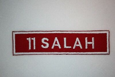 Liverpool Fc -  'Name & Number'  - Embroidered Patch ***Free Post***