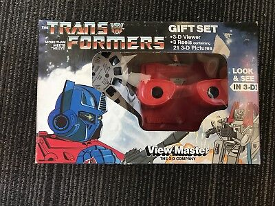 transformers view master giftset sealed brand new