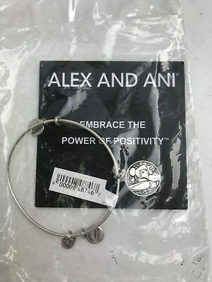 Alex & Ani Tinkerbell Charm Bangle Bracelet Disney Parks Wings Silver RETIRED