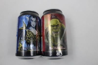2 World Of Warcraft Mountain Dew Game Fuel Limited Edition Horde Alliance