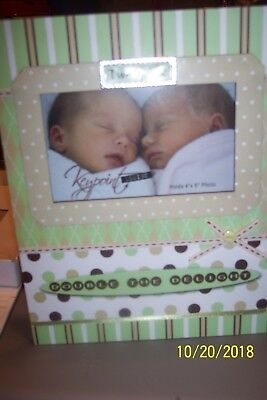 Twins Picture  Frame