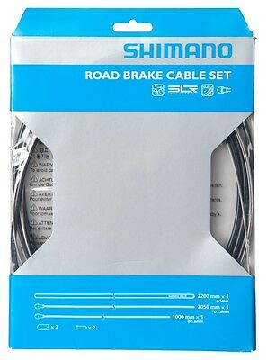 Shimano Road Brake stainless Cable Set Dura-Ace Ultegra 105 BLACK  Y80098019