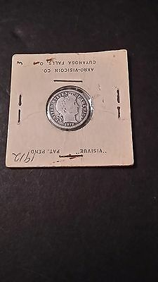 1912 Barber Dime 10 Cents United States Coin You Grade