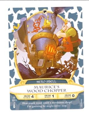 MAURICE'S WOOD CHOPPER - Sorcerers of the Magic Kingdom Card #10 of 70