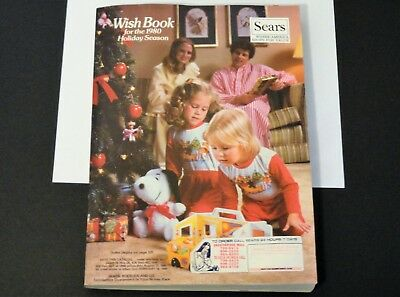 VINTAGE 1980 SEARS - Wish Book - 1980 Wish Book Christmas Catalog