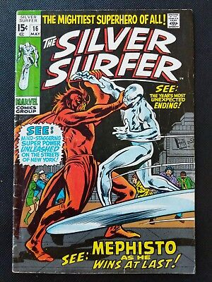Silver Surfer #16 - In the Hands of Mephisto!