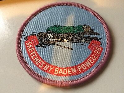 Girl Guides / Scouts Sketches by Baden Powell 26