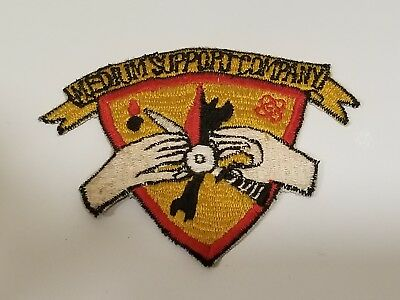 Vietnam War USMC Medium Support Company Patch