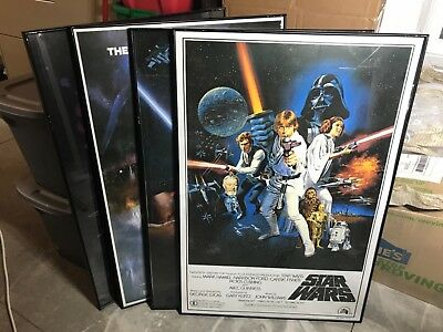 (4) 27X40 STAR WARS Posters UNFOLDED
