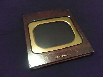 """12"""" x 13 3/8"""" RCA Victor Television Re-purposed Picture Frame 1948"""
