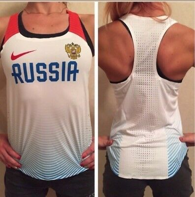 Nike Russia Track and Field. Singlet.
