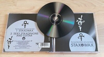 Most Beautiful Girl In World - Prince CD! 2 Track Single Staxowax 1994 NPG