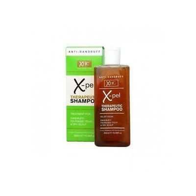 XPEL THERAPEUTIC SHAMPOO ANTI DANDRUFF PSORIASIS ITCHY DRY SCALP 1x300ml NEW