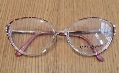 Vintage Women's Glasses Eyewear, 80's Retro, Opti Tanya, 54-16,our ref g3